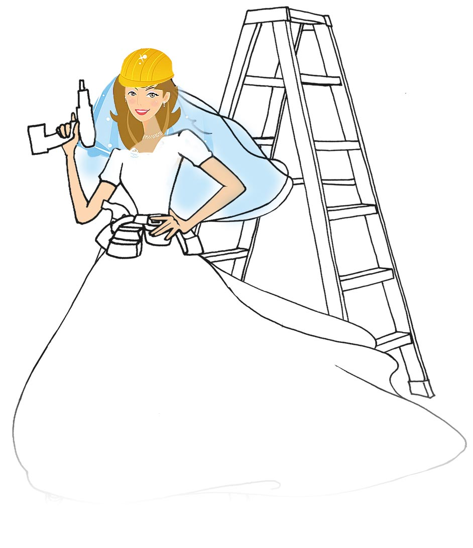 WeddingLDS Construction-Bride