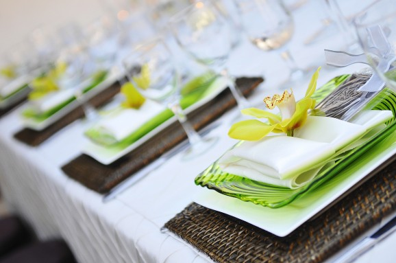 How To Fold Wedding Napkins Cake