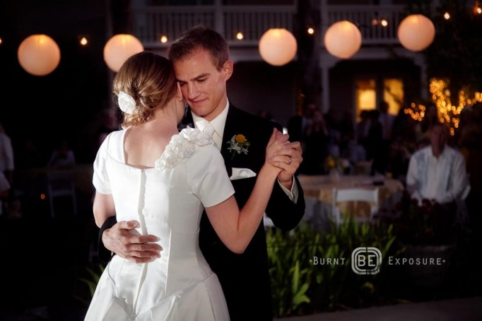 first dance tips for LDS brides and grooms