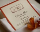Choosing a wedding reception menu