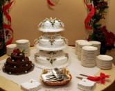 Wedding Cake Tiers, photo by DeLane Robinson photography, WeddingLDS.info