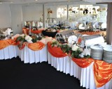 How to Decorate Food Tables at LDS wedding receptions