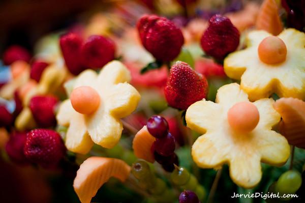 fruit flower display