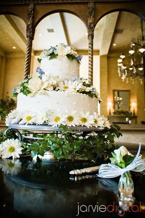 LDS wedding cakes
