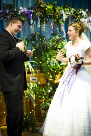 Ring Ceremony For LDS Wedding Receptions Photo By