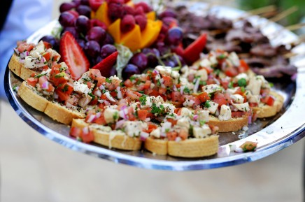 appetizers for LDS receptions, photo by Carly Daniel Photography ...