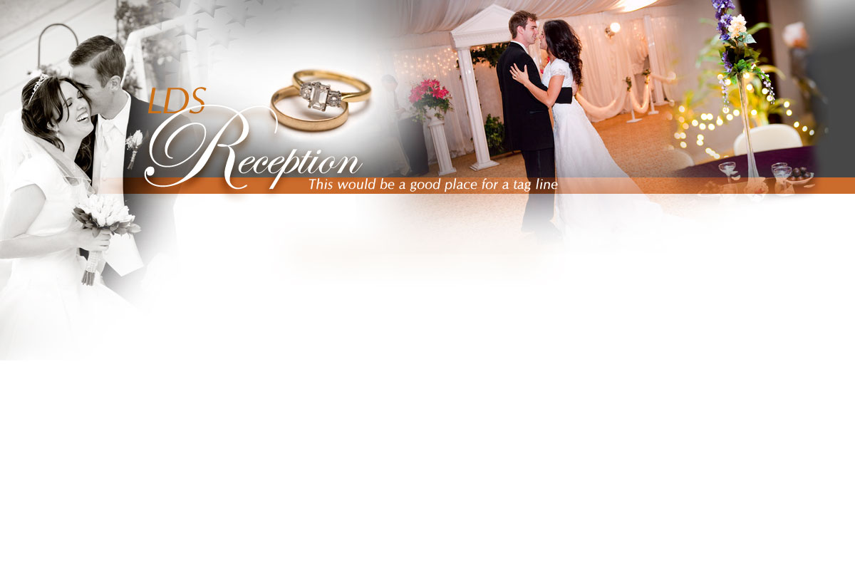 LDS Wedding Reception Ideas