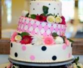 Unique wedding cakes for LDS receptions