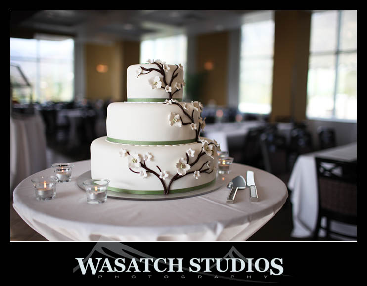 wedding cake shapes, photo by Wasatch Studios, WeddingLDS.info