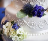 1 year anniversary cake for LDS brides and grooms, photo by Wasatch Studios, WeddingLDS.info