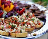 appetizer ideas for LDS wedding receptions