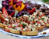 appetizers and hor d'oeuvers for an LDS wedding reception