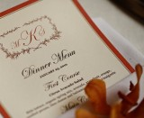 how to choose a sit down menu for LDS wedding receptions