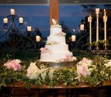 how to display a cake during a LDS wedding reception