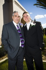 Father of the Groom, LDS Father, LDS Groom