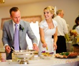 step by step guide for DIY wedding buffets at an LDS wedding reception