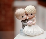 wedding cake toppers for a LDS wedding reception