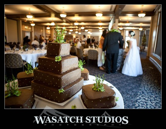 DIY Wedding Cakes for LDS wedding receptions